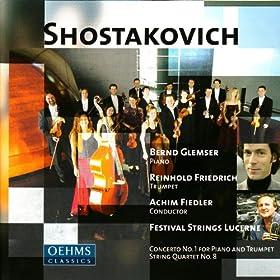 Shostakovich: Concerto No. 1 - String Quartet No. 8