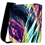 Snoogg abstract paint Womens Carry Around Cross Body Tote Handbag Sling Bags