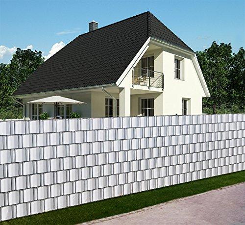 12384420170204_Pvc Sichtschutz Bambus Weiss – Filout.com