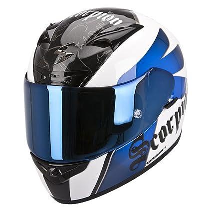 Scorpion eXO - 710 kNIGHT casque intégral aIR-blanc/bleu