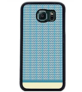 PrintDhaba Pattern D-1986 Back Case Cover for SAMSUNG GALAXY S6 (Multi-Coloured)