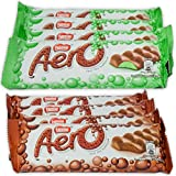 Nestle Aero Milk Chocolate And Peppermint Bar Sample Pack, 1.4 Oz Bars (Pack Of 8)