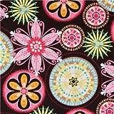 Tela de Michael Miller flores de colores Carnival Bloom (por 0,5 m m�ltiples)