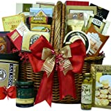First Choice Premium Gourmet Food and Snacks Gift Basket - Picnic Hamper with Smoked Salmon