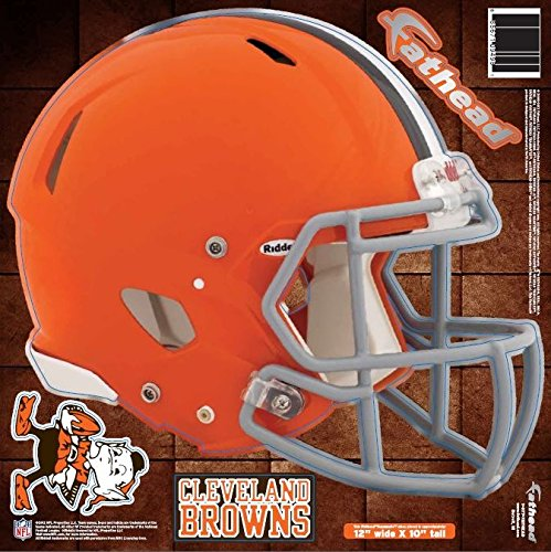 NFL Cleveland Browns Fathead Helmet Decal (Cleveland Browns Auto Decal compare prices)