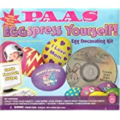 PAAS EGGSPRESS YOURSELF! Egg Decorating Kit