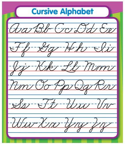 Carson Dellosa Cursive Alphabet Stickers (168072)