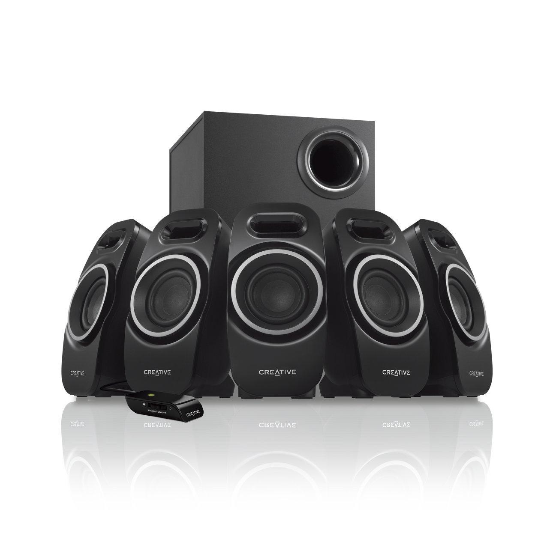 Creative A550 5 1 Channel Multimedia Speaker System 51MF4120AA002