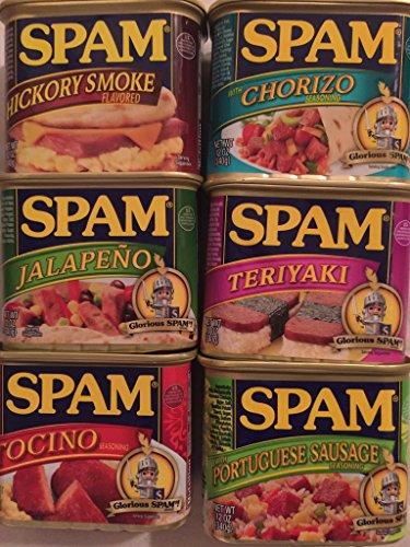 hawaii-exclusive-spam-sampler-bundle-of-6-12-oz-cans
