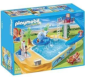 Playmobil -Piscina con fuente (5433)