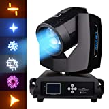 Betopper Stage Moving Head Light Auto/Sound Activated/Master-slave/DMX512 LB200 (LB200-US) (Color: LB200-US)