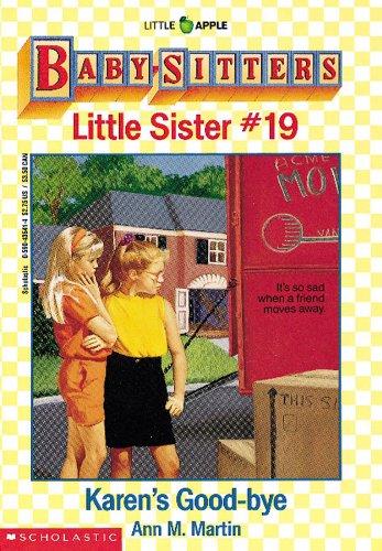 Karen'S Good-Bye (Baby-Sitters Little Sister, No.19) front-761141