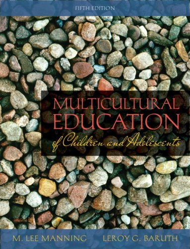Multicultural Education of Children and Adolescents (5th...