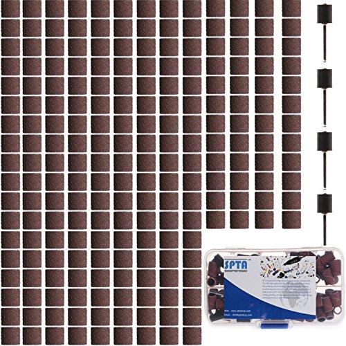 spta-260tlg-schleifbander-schleifhulsen-korund-10mm-k240-5-dorn-fur-dremelproxxon-dremel-kabelgebund