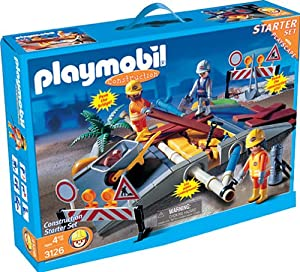 Playmobil - 3126 - Super Set Travaux publics