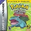 Pokemon Leaf Green Version - Game Boy Advance