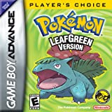 Video Games - Pokemon Leaf Green Version