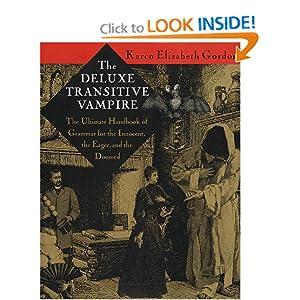 The Deluxe Transitive Vampire - Karen Elizabeth Gordon