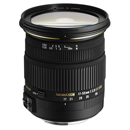Sigma Objectif 17-50 mm F2,8 DC EX HSM - Monture Sony