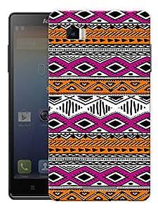 "Ethnic Pattern Printed Designer Mobile Back Cover For ""Lenovo Vibe Z K910"" By Humor Gang (3D, Matte Finish, Premium Quality, Protective Snap On Slim Hard Phone Case, Multi Color)"