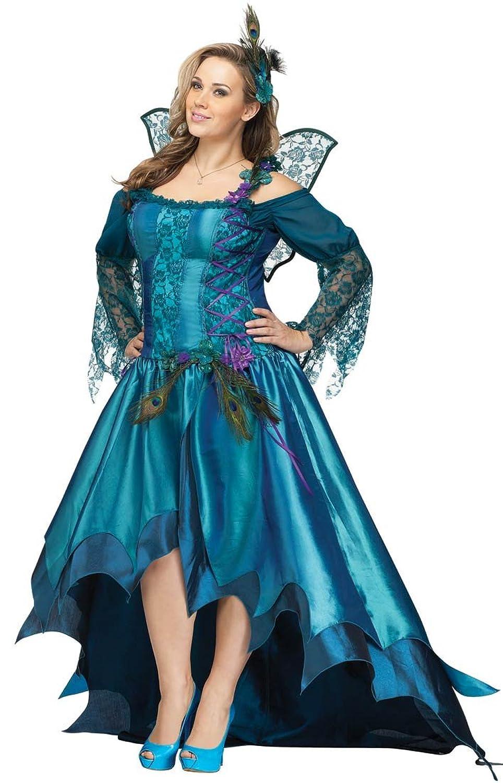 Womens Peacock Fairy Costume