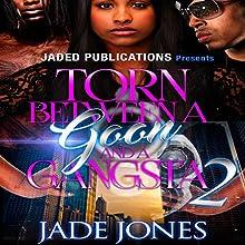 Torn Between a Goon and a Gangsta 2 Audiobook by Jade Jones Narrated by Katt Kampbell