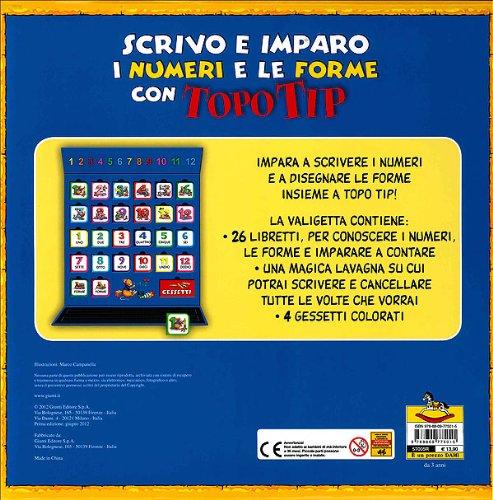 Libro valigetta 1 2 3 di topo tip di marco campanella for Topo tip giocattoli