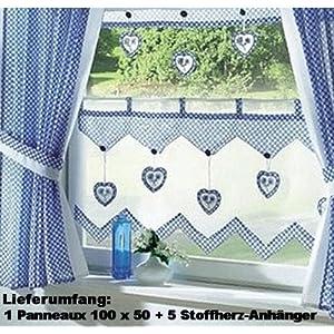 pin landhaus gardinen f r die k che n hen on pinterest. Black Bedroom Furniture Sets. Home Design Ideas