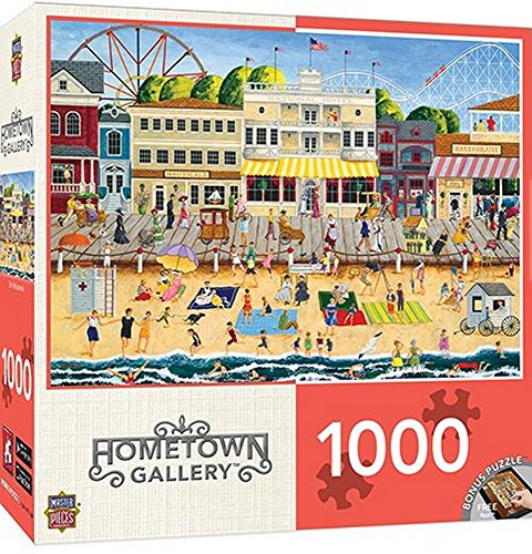 Hometown-Gallery-Collection-On-the-Bordwalk-1000-pc-Jigsaw-Puzzle