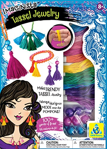 The Orb Factory Imaginista Tassel Jewelry - 1