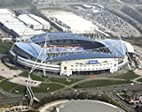 Mouse mat featuring aerial pic of the Reebok Stadium, home of Bolton Wanderers FC