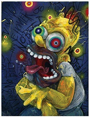 homer-art-print-the-simpsons-art-homer-simpson-wall-art-cartoon-art-funny-art-homer-by-black-ink-art