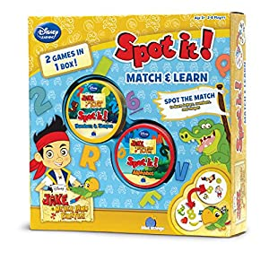 Spot it! 2-in-1 Jake and the Never Land Pirates