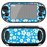 atFoliX Designfolie &#34;Hawaii Blau&#34; fr Sony PlayStation Vitavon &#34;Designfolien@FoliX&#34;