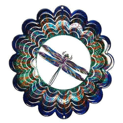 Next Innovations EKMDRAGONFLYBL Blue Dragonfly Kaleidescope Eycatcher, Medium