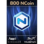 NCSoft NCoin 800 Ncoin [Online Game C...