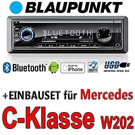 Mercedes classe c w202 brisbane bLAUPUNKT - 230/mP3/uSB avec kit de montage autoradio avec bluetooth