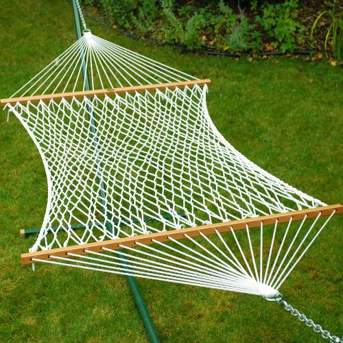82″ x 58″ Deluxe Rope 2-Point Double Hammock