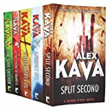 Alex Kava Alex Kava Collection 5 Books Set Pack Set Maggie O'Dell RRP:  34.95 (Split Second, A Necessary Evil, At the Stroke of Madness, A Perfect Evil, The Soul Catcher) (Maggie O'Dell Novel)