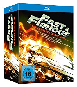 Fast & Furious - The Collection 1-5 [Alemania] [Blu-ray]