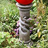 Echo Valley 9182 Spiral Globe Column Slate Stand