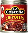 La Costena Chipotle Peppers in Adobo Sauce 7 Oz