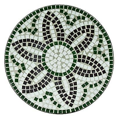 Luxus Mosaiktisch FLORA Bistrotisch Mosaik Bistro Beistelltisch Gartentisch von Deuba bei Gartenmöbel von Du und Dein Garten