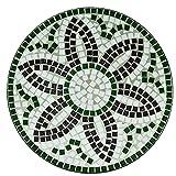 Luxus-Mosaiktisch-FLORA-Bistrotisch-Mosaik-Bistro-Beistelltisch-Gartentisch