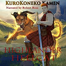 Highlander Hellcat Audiobook by KuroKoneko Kamen Narrated by Robert Ross