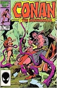 Amazon.com: Conan the Barbarian, Edition# 185: Marvel: Books