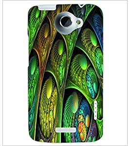 PRINTSWAG PATTERN Designer Back Cover Case for HTC ONE X