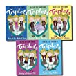 Triplets Collection 5 Books Set (Holly webb) (Katies Big Match, Annabels Perfect Party, Katies Secret Admirer, Beckys Dress Disaster, Beckys Problem Pet)