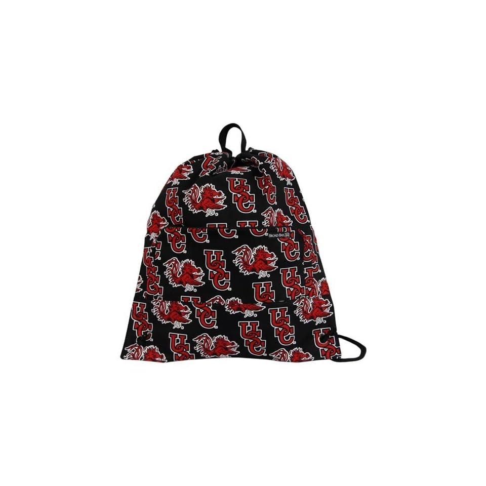 South Carolina Gamecocks Black Cinch Bag