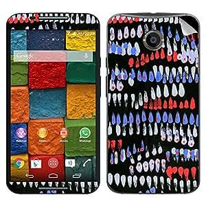 Theskinmantra Print finger Motorola Moto X2 mobile skin